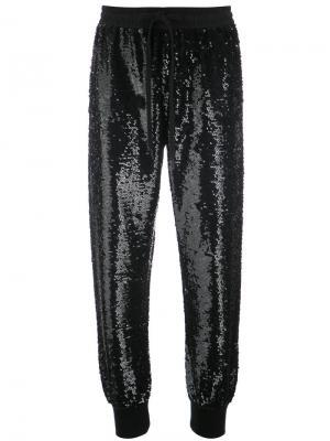 Sequinned trousers Ashish. Цвет: чёрный