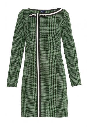 Платье из шерсти 177270 Andrea Turchi. Цвет: зеленый
