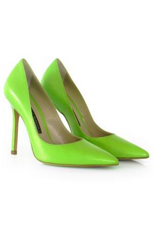Туфли Norma J. Baker. Цвет: зеленый