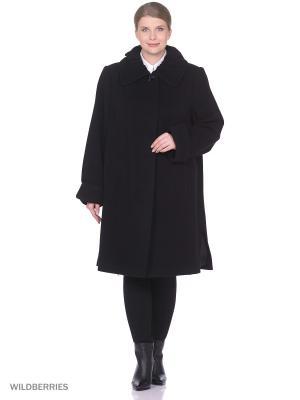 Пальто Фарт Фаворита. Цвет: черный