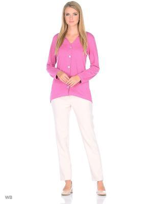 Блузка HomeLike. Цвет: розовый
