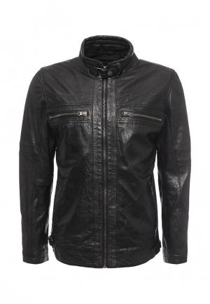 Куртка кожаная H.I.S. Цвет: черный
