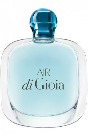 Парфюмерная вода Air Di Gioia Giorgio Armani. Цвет: бесцветный