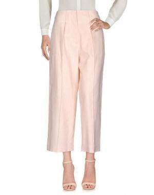 Повседневные брюки TELA. Цвет: светло-розовый