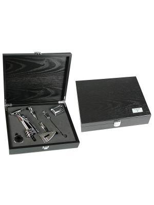 Подарочный набор сомелье VIRON. Цвет: черный