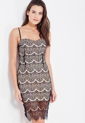 Платье MiraSezar. Цвет: бежевый