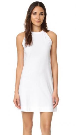 Платье без рукавов Three Dots. Цвет: белый
