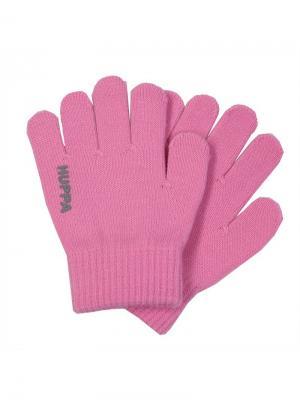 Перчатки LEVI HUPPA. Цвет: розовый