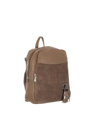 Рюкзак 5752A искусственная кожа Sofiya. Цвет: темно-бежевый