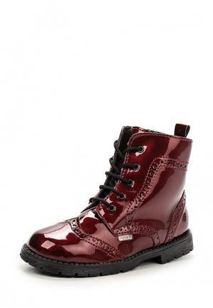 Ботинки Barritos. Цвет: бордовый