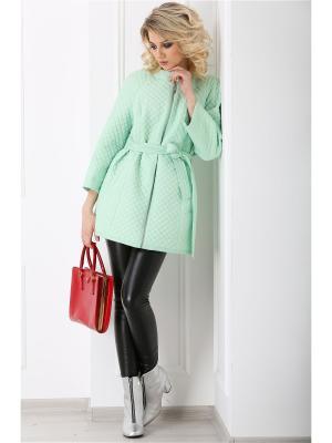 Куртка Lanicka. Цвет: светло-зеленый