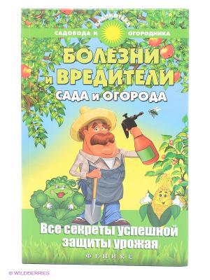 Болезни и вредители сада огорода. Все секреты успешной защиты урожая Феникс. Цвет: голубой, зеленый