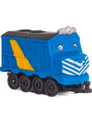 Chuggington паровозик Зак. Цвет: синий
