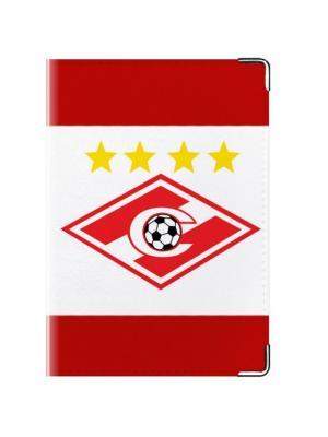 Обложка для паспорта Спартак Tina Bolotina. Цвет: красный, белый