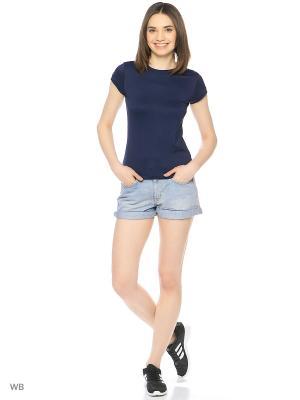 Джинсовые шорты Adidas. Цвет: голубой