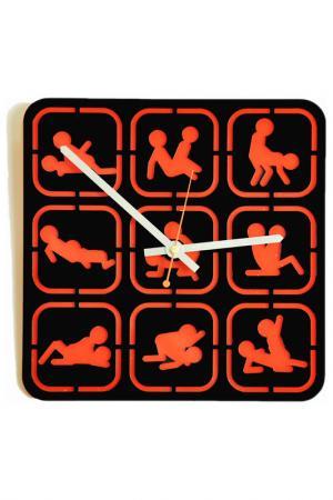 Часы Камасутра-квадрат W-ERA. Цвет: черный, красный