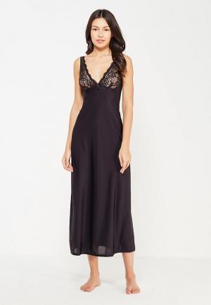 Сорочка ночная Lauma Lingerie. Цвет: черный