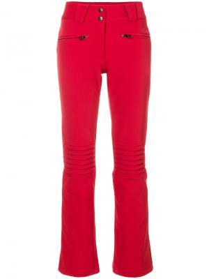 Расклешенные брюки Aurora Perfect Moment. Цвет: красный