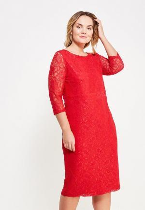 Платье Svesta. Цвет: красный