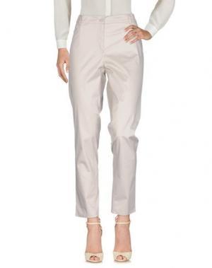Повседневные брюки PAOLA ROSSINI. Цвет: светло-серый