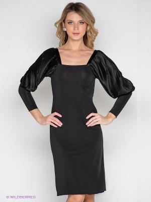 Платье Lussotico. Цвет: черный