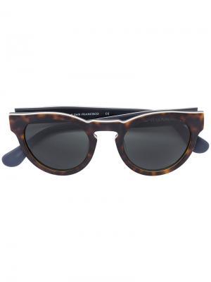 Солнцезащитные очки Voyager 30 Westward Leaning. Цвет: коричневый