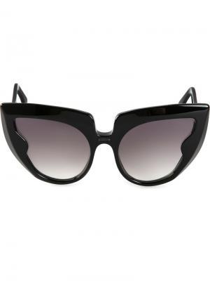 Солнцезащитные очки Diva Frame  Barns Barn's. Цвет: чёрный