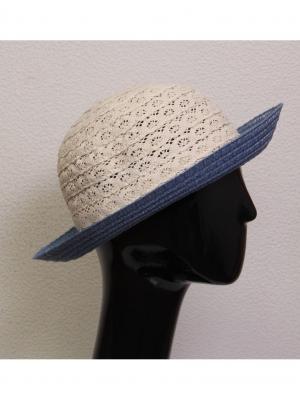 Шляпа Marini Silvano.. Цвет: голубой