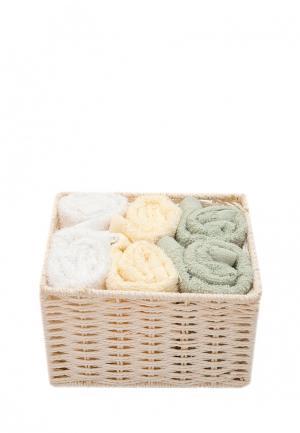Комплект полотенец 6 шт. La Pastel. Цвет: разноцветный