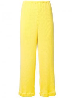 Укороченные брюки Taro Horiuchi. Цвет: жёлтый и оранжевый