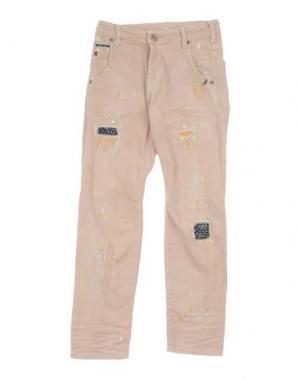 Джинсовые брюки SCOTCH R'BELLE. Цвет: бежевый