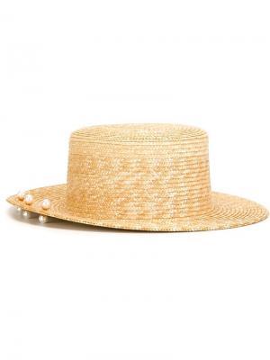 Шляпа Maris  for 711 Eshvi. Цвет: телесный