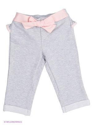 Бриджи Wojcik. Цвет: серый меланж, бледно-розовый