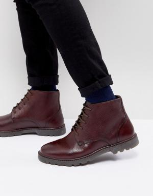 KG Kurt Geiger Ботинки на шнуровке By. Цвет: красный