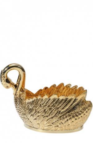 Чаша для шампанского Лебедь Tsar. Цвет: золотой