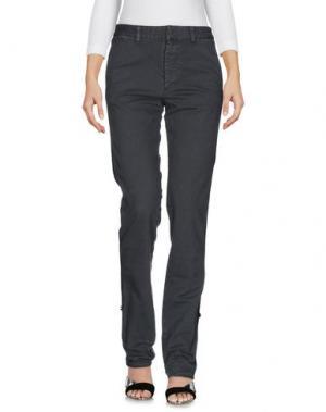 Джинсовые брюки ..,MERCI. Цвет: свинцово-серый