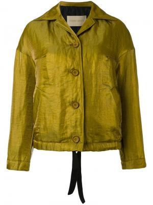 Куртка Josie Christian Wijnants. Цвет: металлический