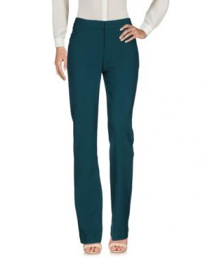 Повседневные брюки TARA JARMON. Цвет: темно-зеленый