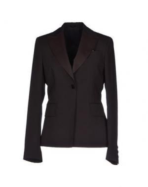 Пиджак MANUEL RITZ. Цвет: темно-коричневый