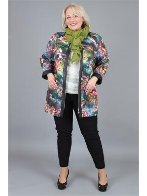 Куртка NadiN. Цвет: синий, розовый