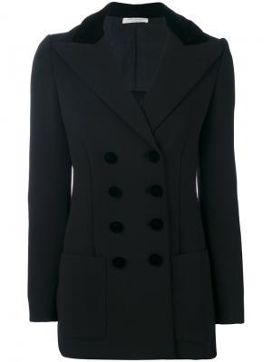 Двубортный пиджак Philosophy Di Lorenzo Serafini. Цвет: чёрный