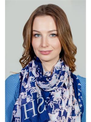 Платок Sophie Ramage. Цвет: синий