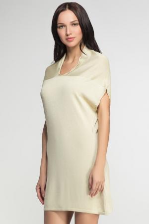 Платье 149038 Firkant. Цвет: бежевый