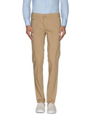 Повседневные брюки RE.BELL. Цвет: верблюжий