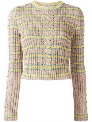 Вязаный свитер Philosophy Di Lorenzo Serafini. Цвет: многоцветный