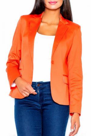 Жакет Figl. Цвет: оранжевый