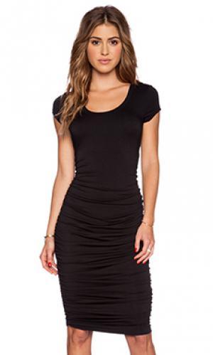Платье shayna sen. Цвет: черный