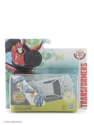 Трансформеры: роботы под прикрытием: Уан-Стэп Hasbro. Цвет: белый, синий