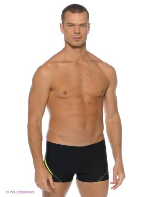 Плавки-шорты OLYMP Mad Wave. Цвет: желтый, черный