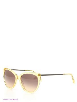 Солнцезащитные очки Rodenstock. Цвет: желтый